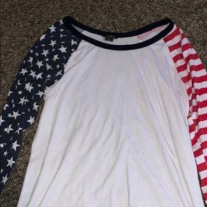 Quarter length shirt